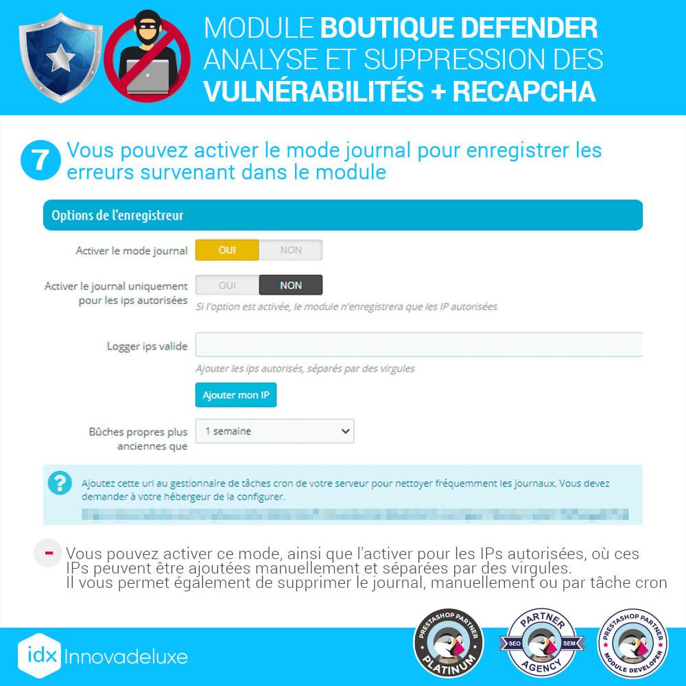 module - Administration du site - Store Defender (suppression de malware + pare-feu) - 11
