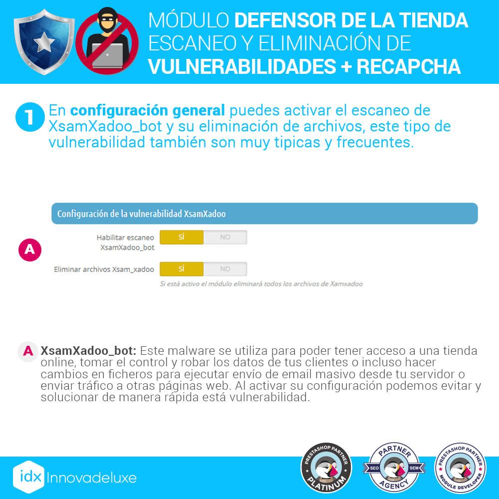 module - Administración del sitio - Defensor de la tienda (Eliminar malware + Cortafuegos) - 3