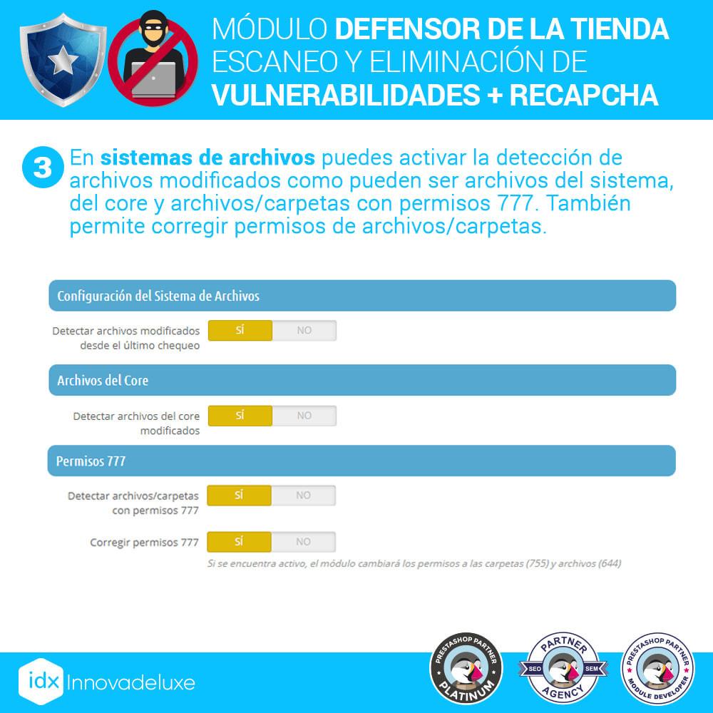 module - Administración del sitio - Defensor de la tienda (Eliminar malware + Cortafuegos) - 6