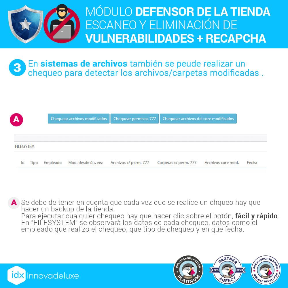module - Administración del sitio - Defensor de la tienda (Eliminar malware + Cortafuegos) - 7