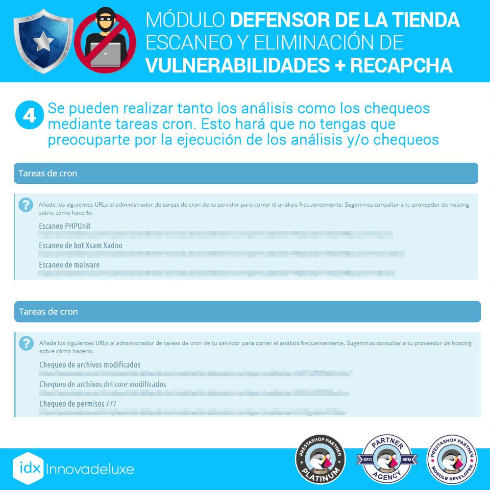 module - Administración del sitio - Defensor de la tienda (Eliminar malware + Cortafuegos) - 8