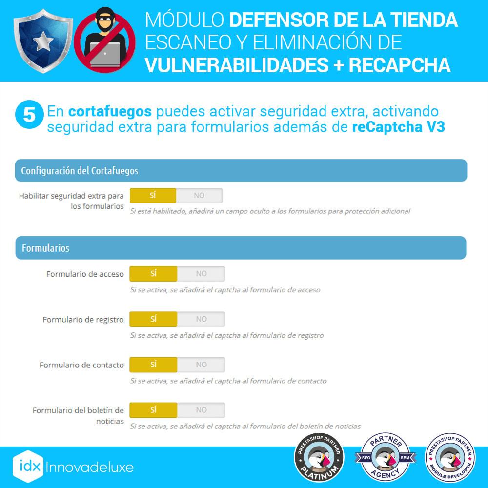 module - Administración del sitio - Defensor de la tienda (Eliminar malware + Cortafuegos) - 9
