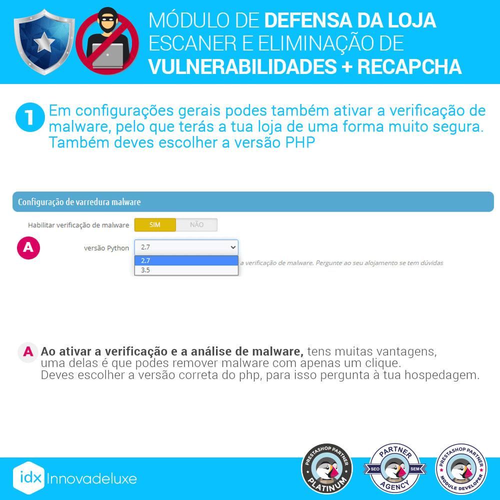 module - Administração - Store Defender (Remoção de malware + Firewall) - 4