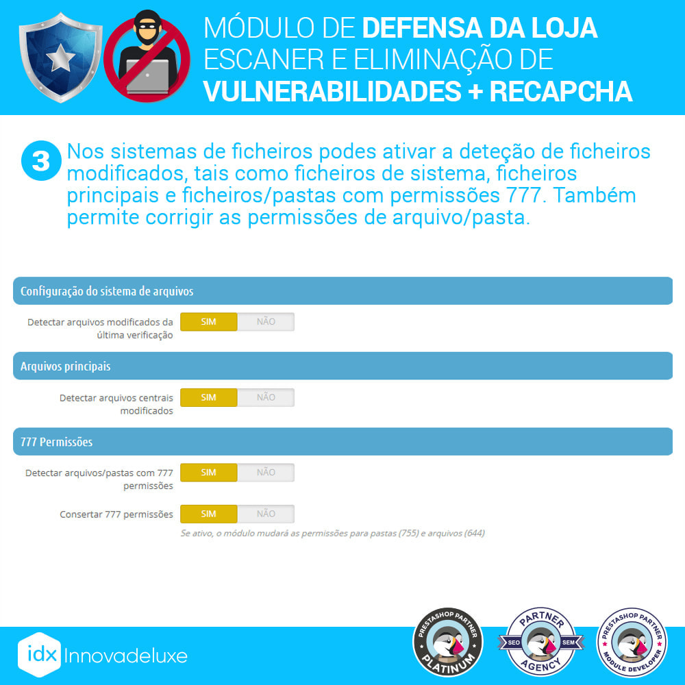 module - Administração - Store Defender (Remoção de malware + Firewall) - 6
