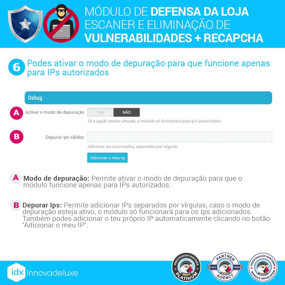 module - Administração - Store Defender (Remoção de malware + Firewall) - 10