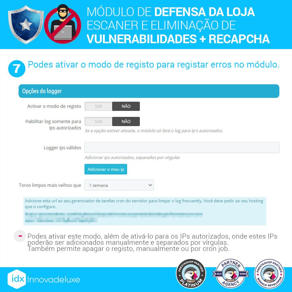 module - Administração - Store Defender (Remoção de malware + Firewall) - 11