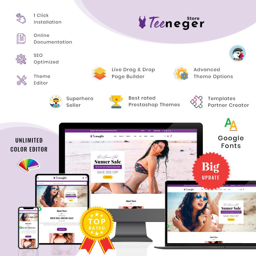 theme - Lingerie & Volwassenen - Teeneger Store - 1