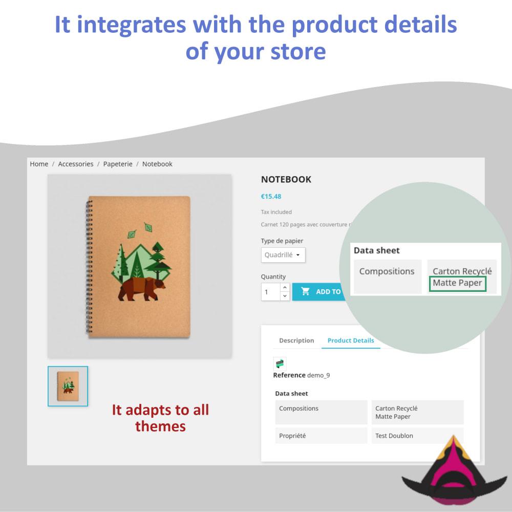 module - Versies & Personalisering van producten - Features for the combinations - 3