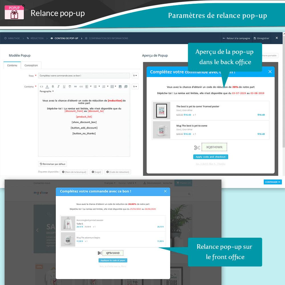 module - Remarketing & Paniers Abandonnés - Relance des paniers abandonnés + E-mails automatiques - 14