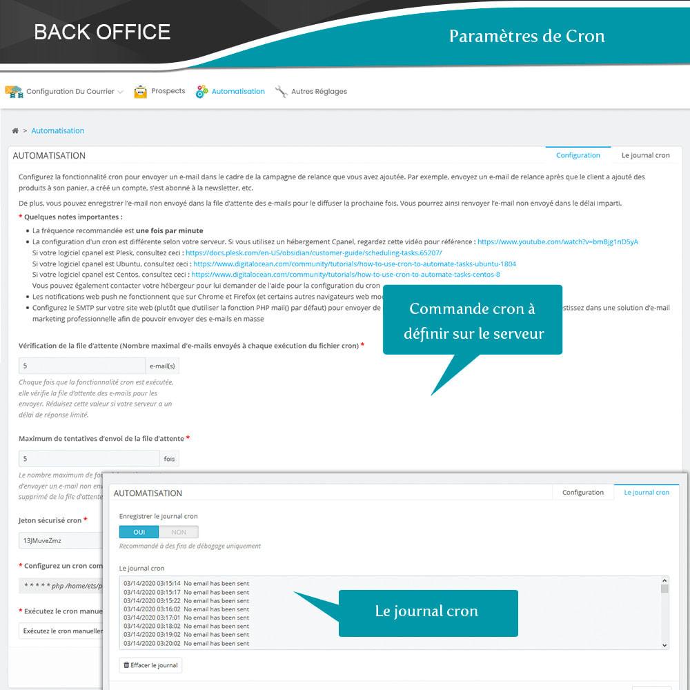 module - Remarketing & Paniers Abandonnés - Relance des paniers abandonnés + E-mails automatiques - 22