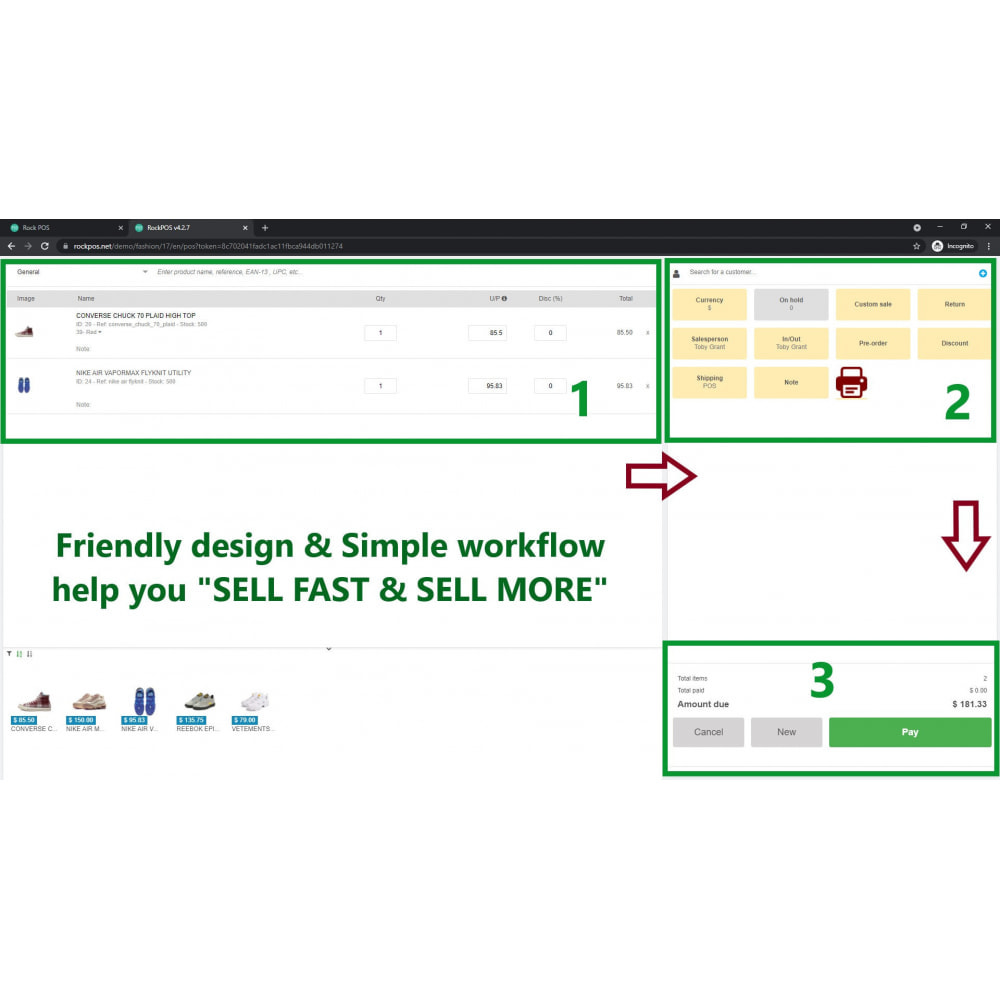 module - Software POS - Rock POS - Punto di vendita e Omnicanale - 1