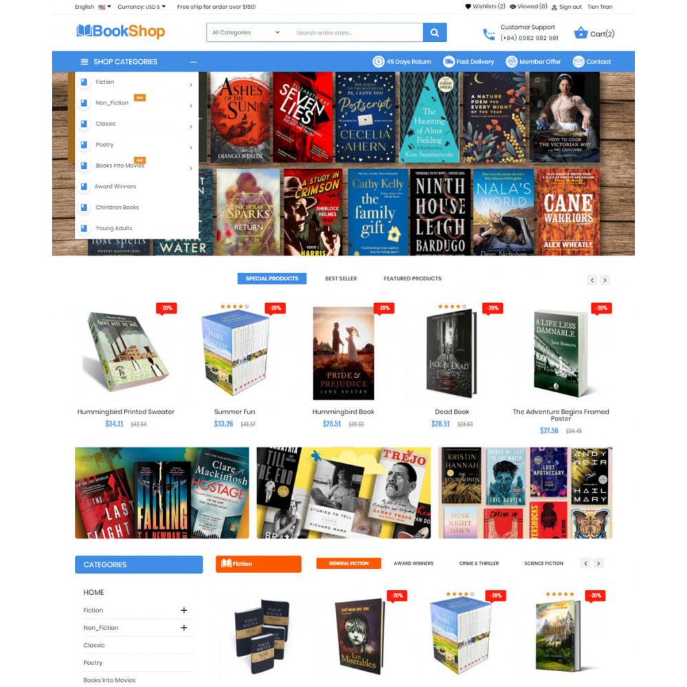 theme - Искусство и Культура - Book Shop Art Culture - 2