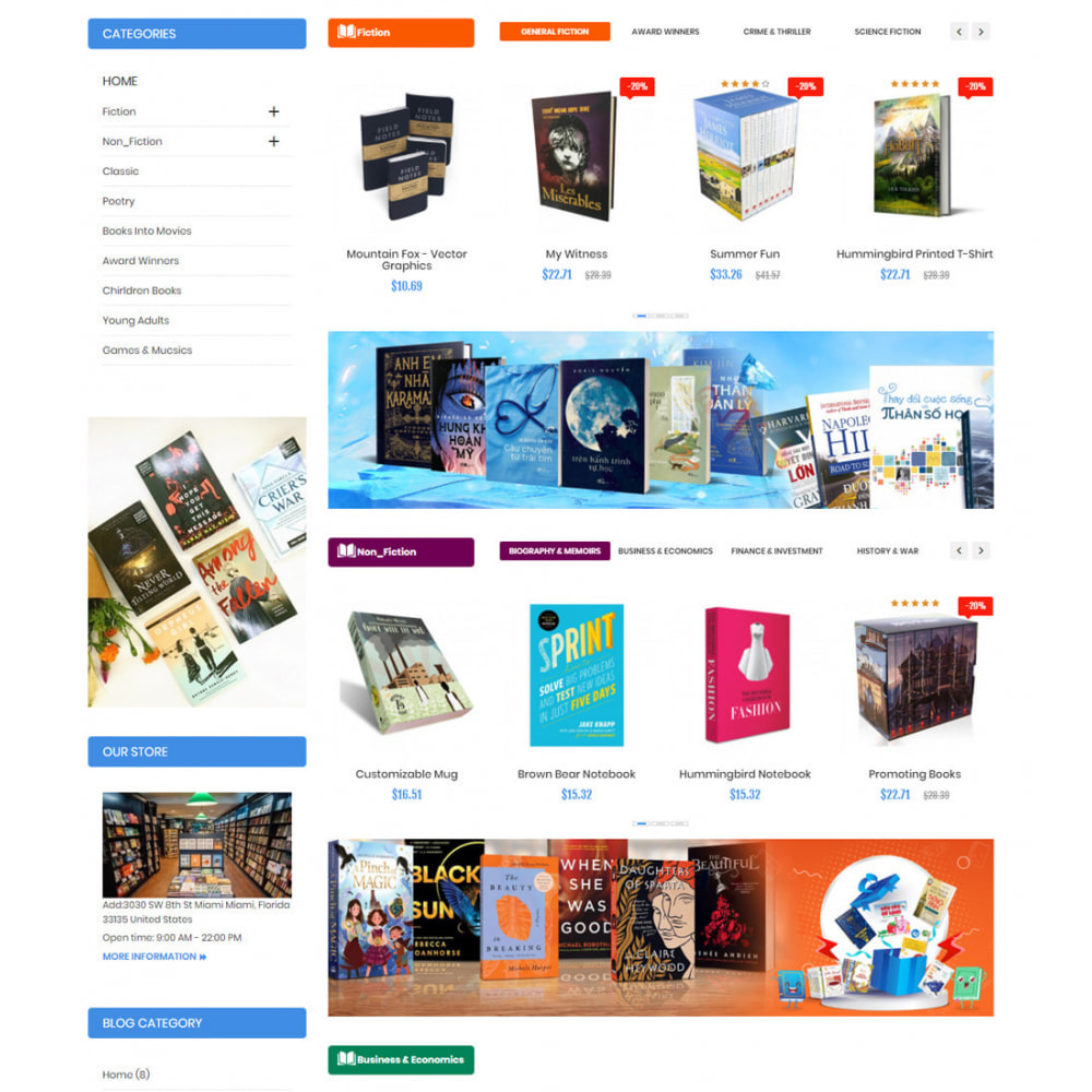 theme - Искусство и Культура - Book Shop Art Culture - 4