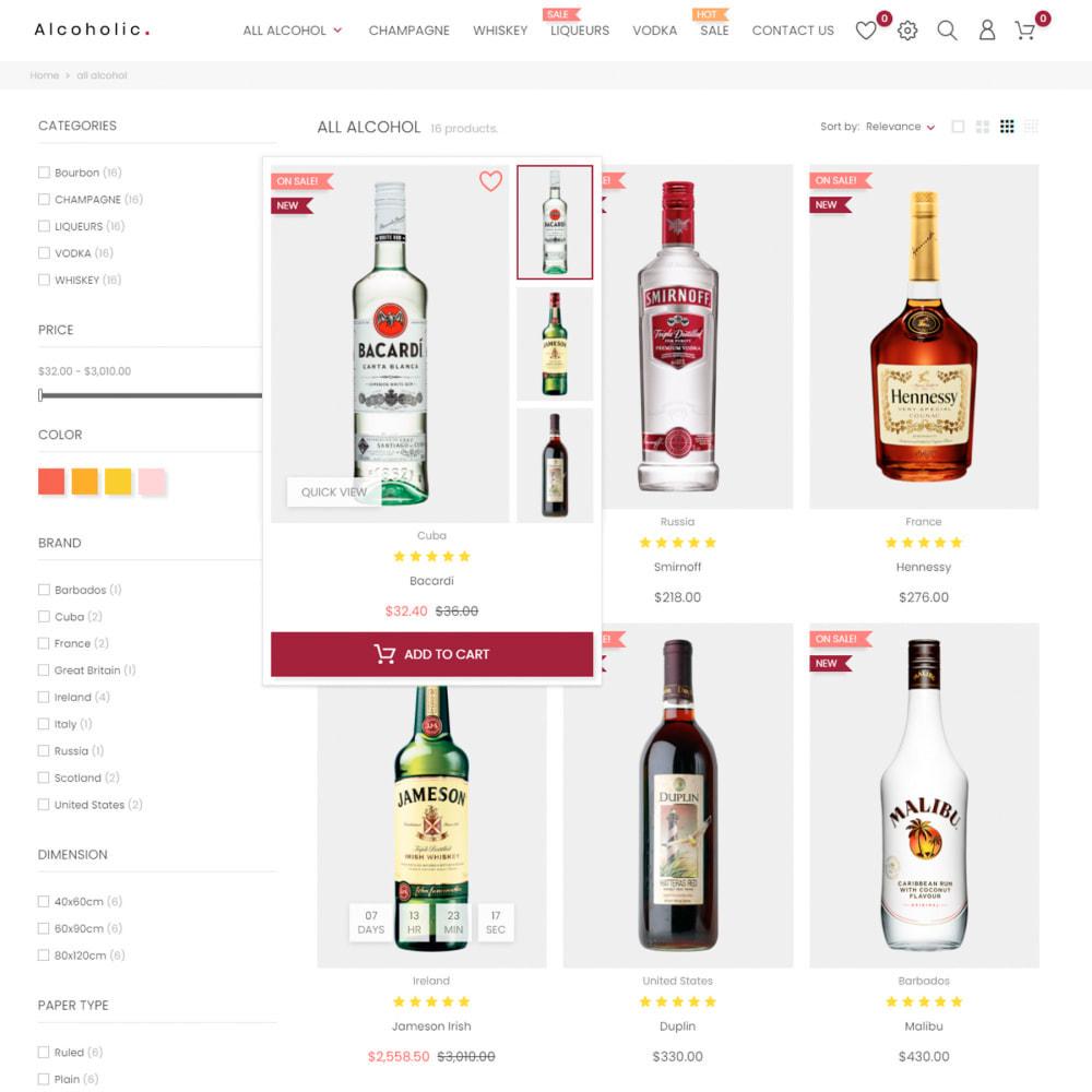 theme - Bebidas y Tabaco - Alcoholic, Drinks & Tobacco - Wine, Coffee, Drinks - 5