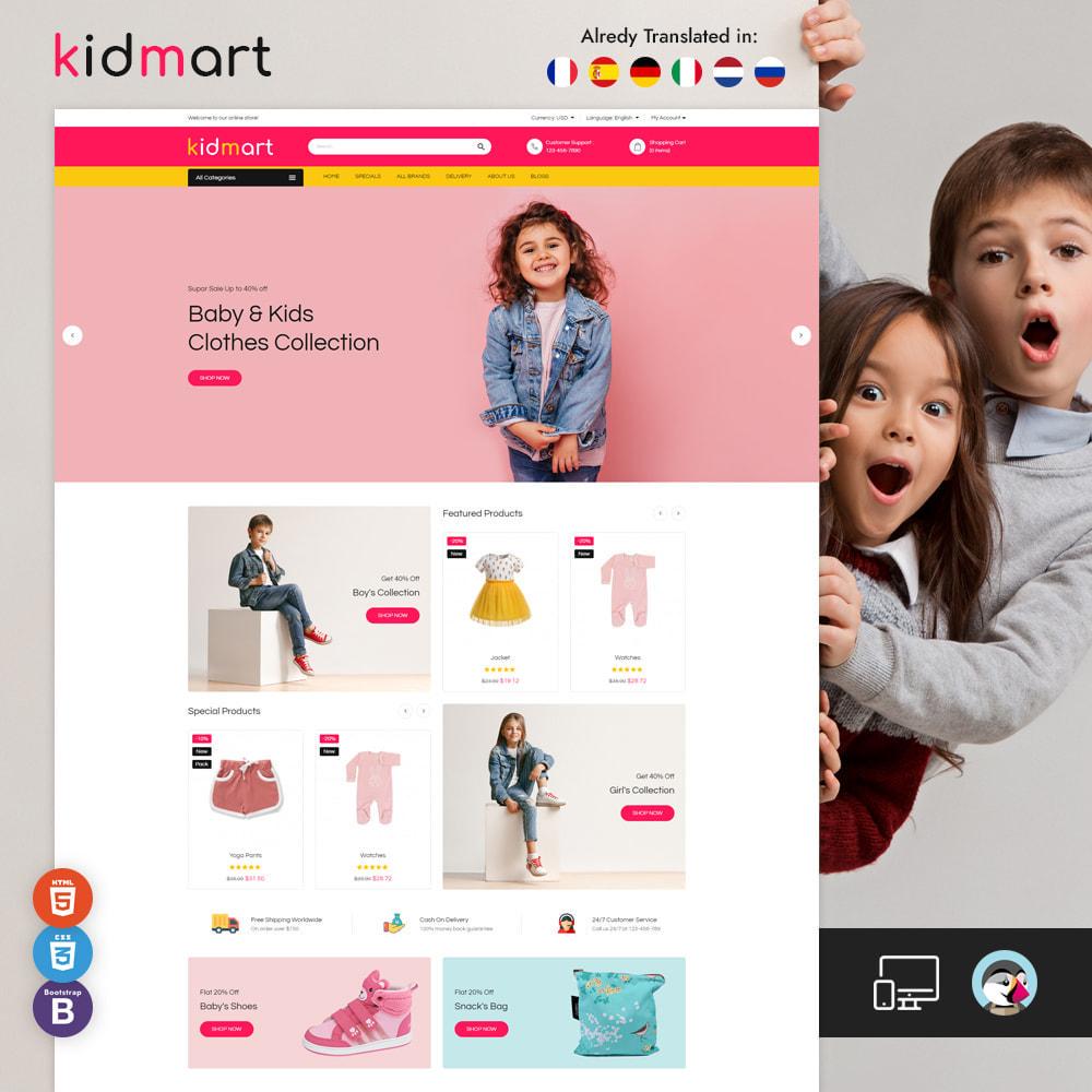 theme - Mode & Chaussures - Magasin de mode Kidmart - 1