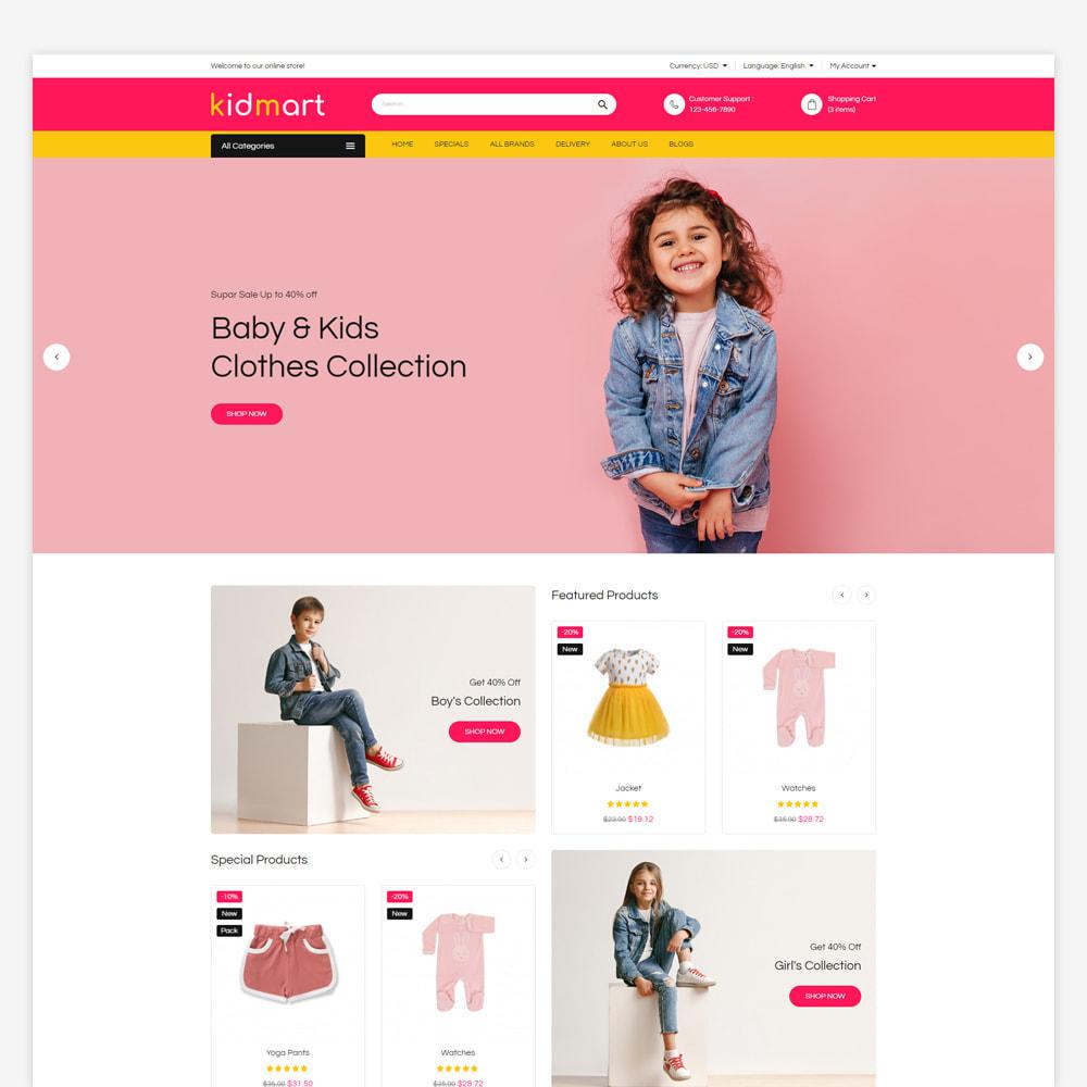 theme - Fashion & Shoes - Kidmart - Fashion Store - 2