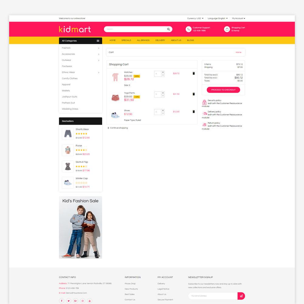 theme - Fashion & Shoes - Kidmart - Fashion Store - 6