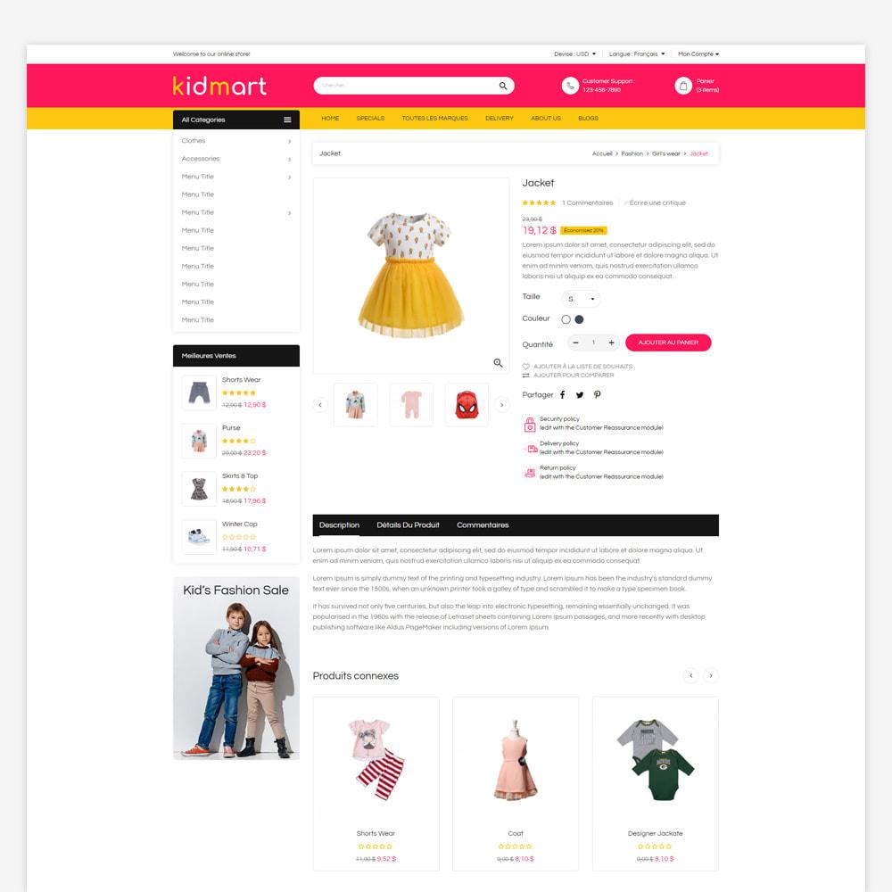 theme - Mode & Chaussures - Magasin de mode Kidmart - 4