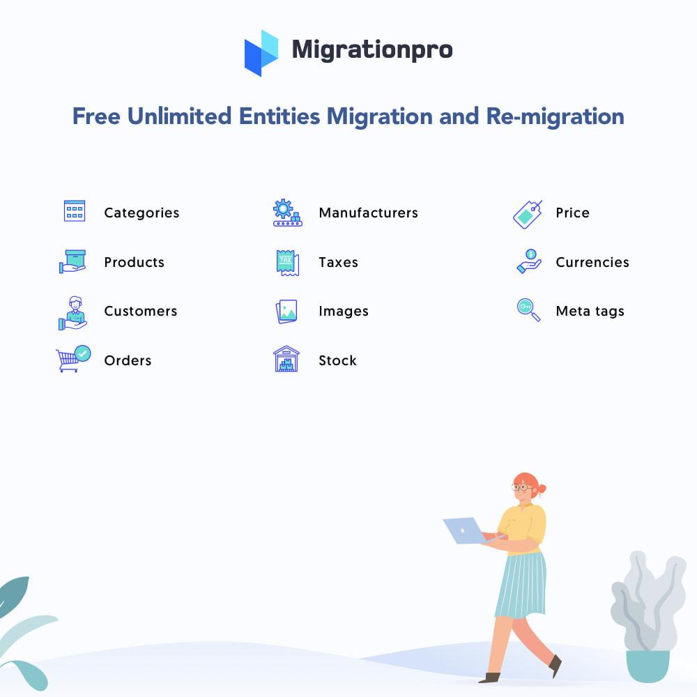 module - Migratie & Backup - MigrationPro: BigCommerce to PrestaShop Migration Tool - 2