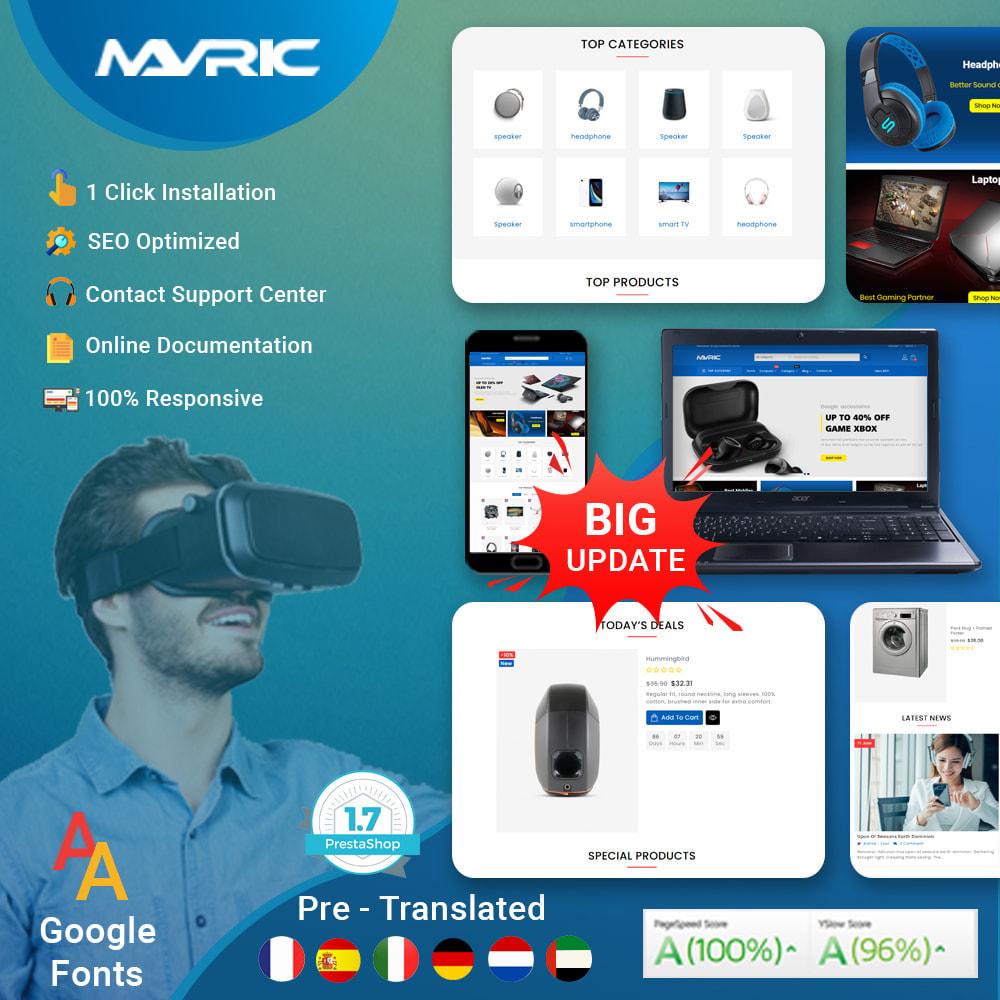 theme - Electronics & Computers - Mavrick Mega Online Multipurpose Electronic Store - 1