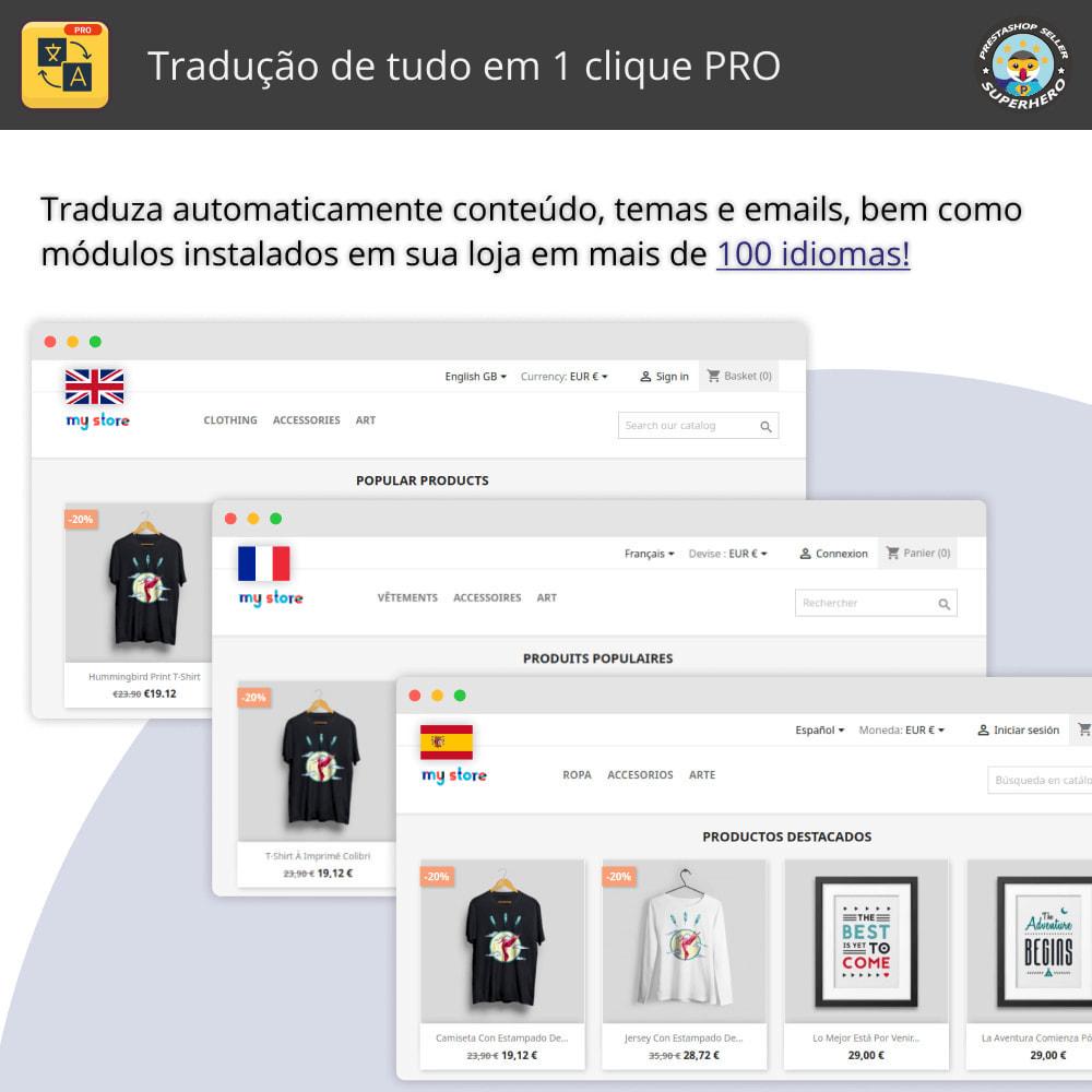 module - Internacional & Localização - Traduzir tudo - Tradução gratuita e ilimitada - 1