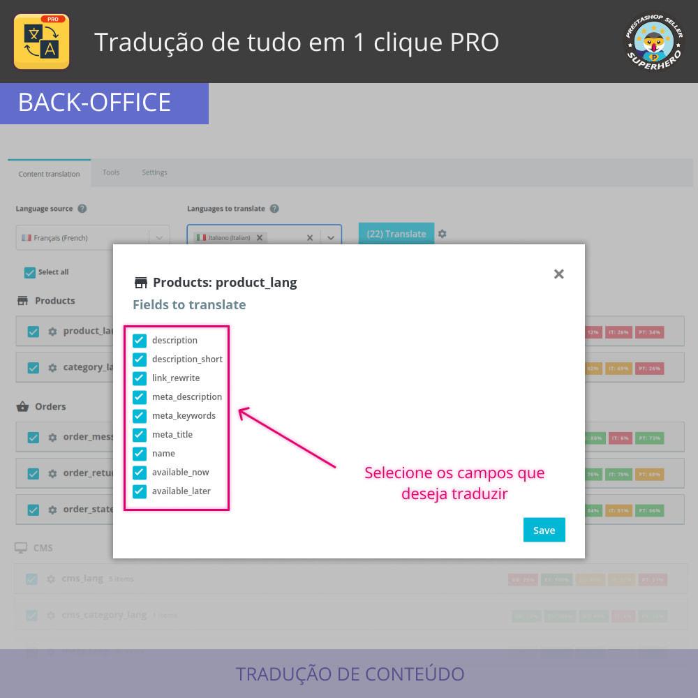 module - Internacional & Localização - Traduzir tudo - Tradução gratuita e ilimitada - 4