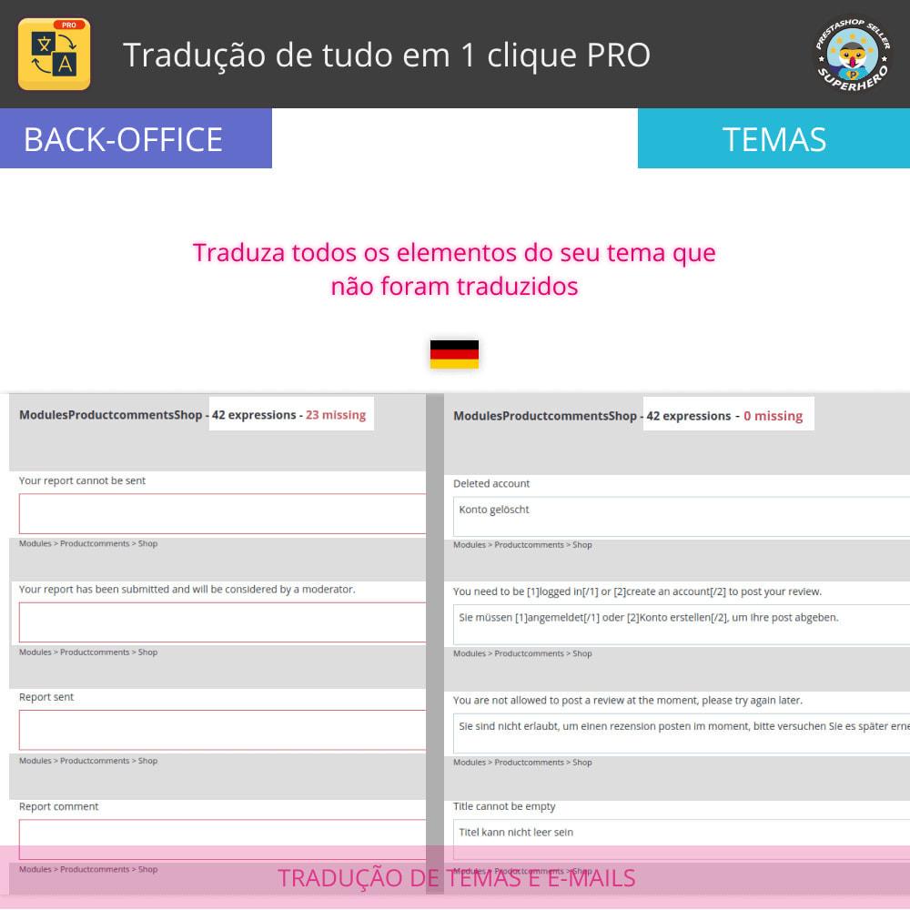 module - Internacional & Localização - Traduzir tudo - Tradução gratuita e ilimitada - 6