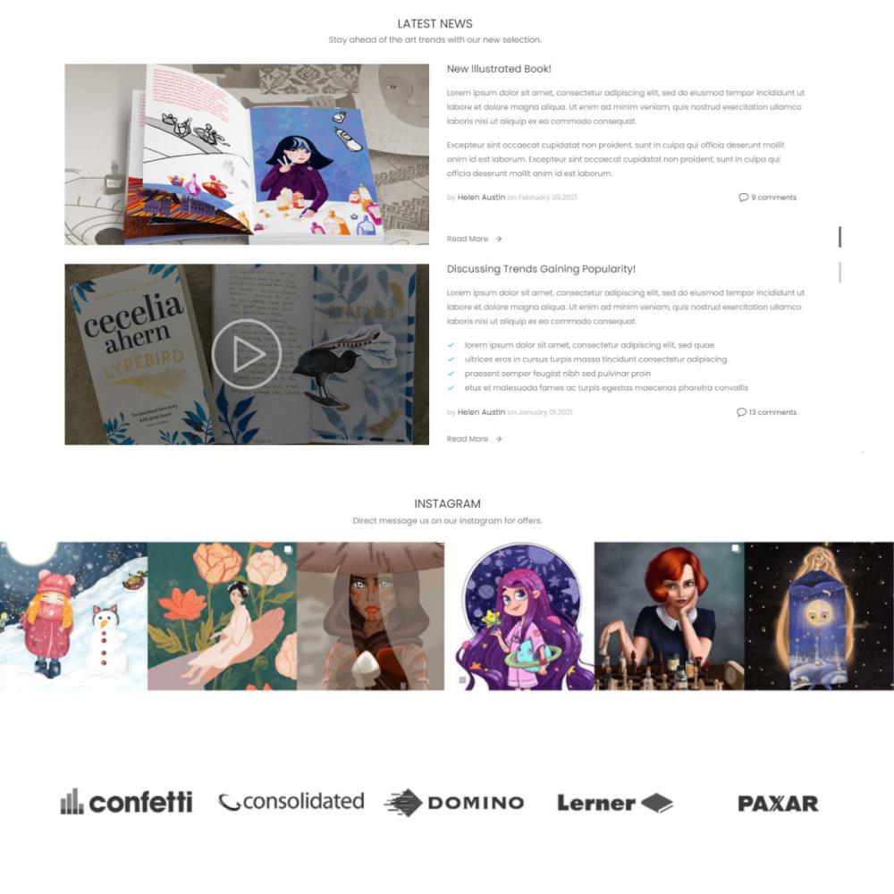 theme - Kultura & Sztuka - Art & Culture - Decor, Book, Print, Music - 4