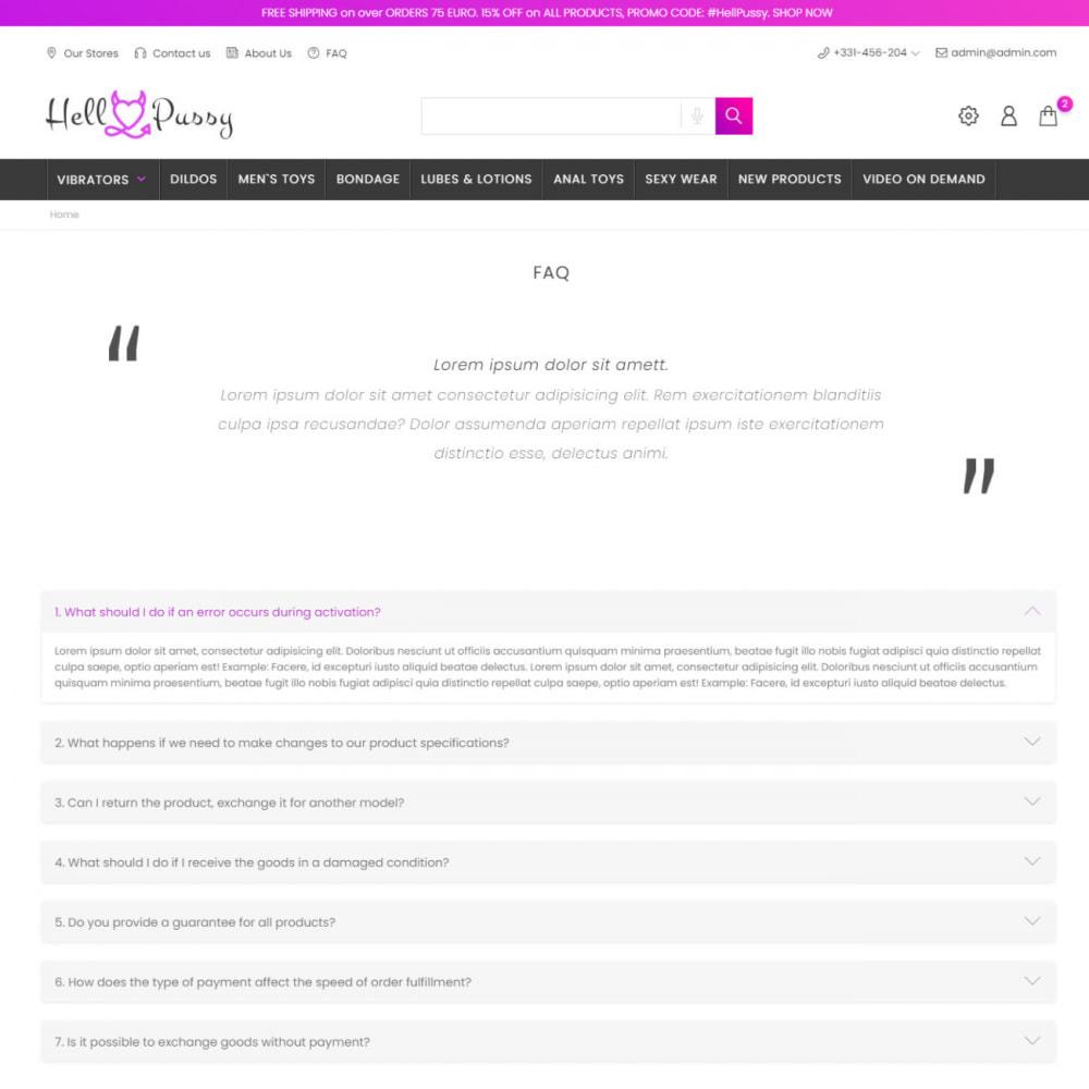 theme - Lingerie & Volwassenen - SexShop & Adult - Fashion Lingerie, Clothes, Toys, Love - 8