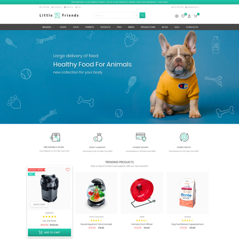theme - Animaux - Animals & Pets Care - Food, Clothes, Toys - 2