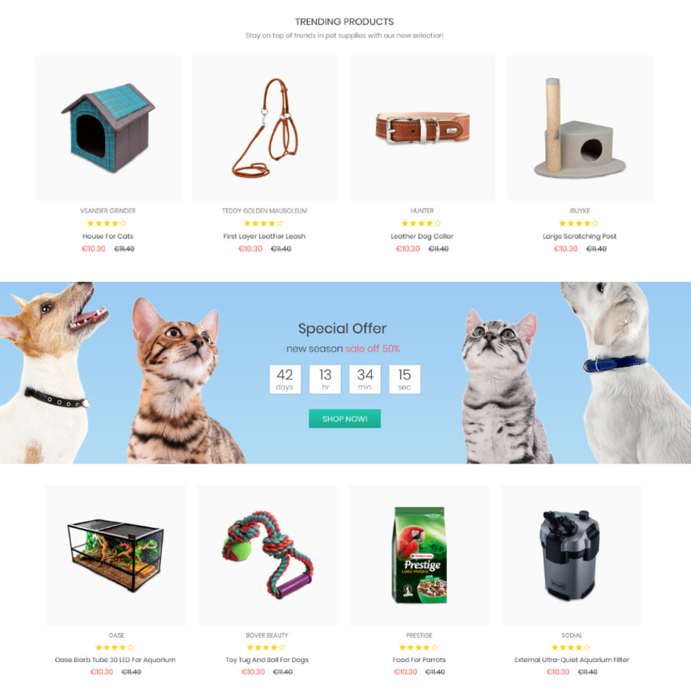 theme - Animaux - Animals & Pets Care - Food, Clothes, Toys - 3