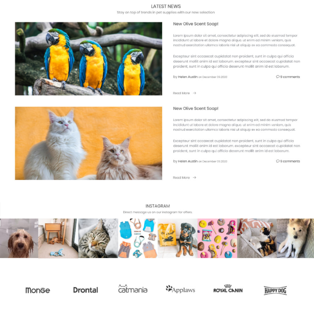 theme - Animaux - Animals & Pets Care - Food, Clothes, Toys - 4