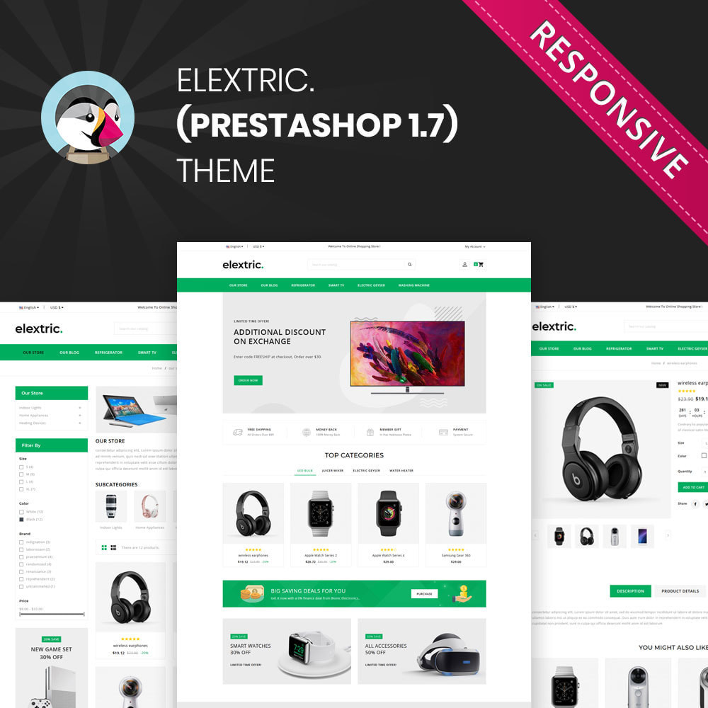 theme - Electronics & Computers - Elextric - The Mega Electronic Store - 1