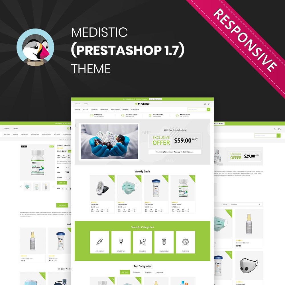 theme - Здоровье и красота - Medistic - Mega Medicine Store - 1