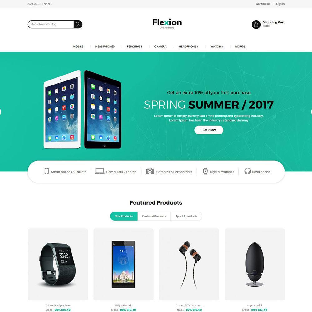 theme - Электроника и компьютеры - Flexion Digital Electronics Store - 2