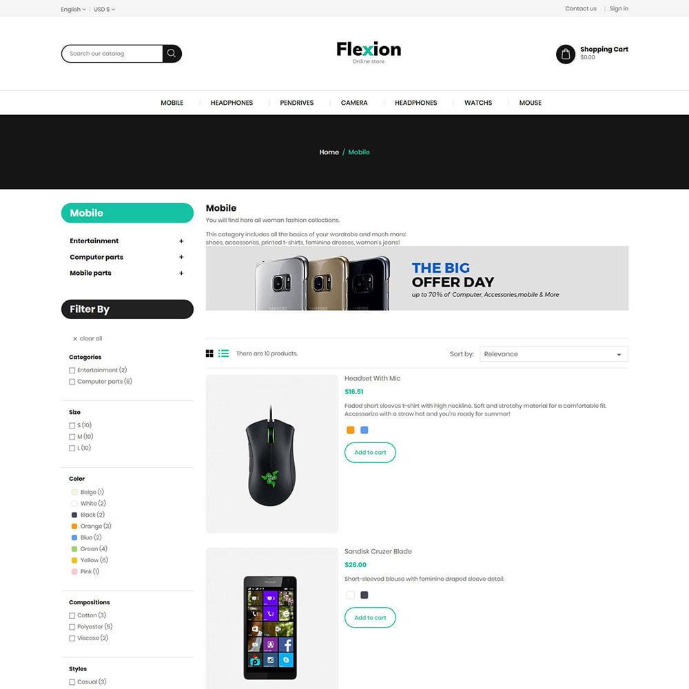 theme - Электроника и компьютеры - Flexion Digital Electronics Store - 4