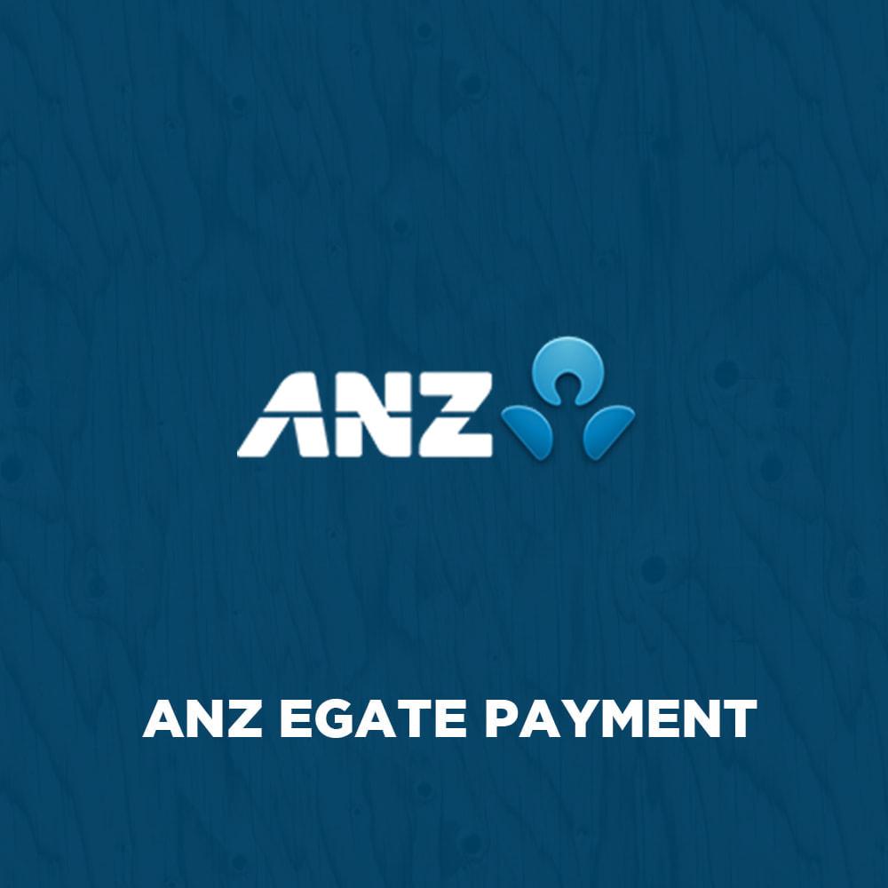 module - Оплата банковской картой или с помощью электронного кошелька - ANZ eGate Payment - 1