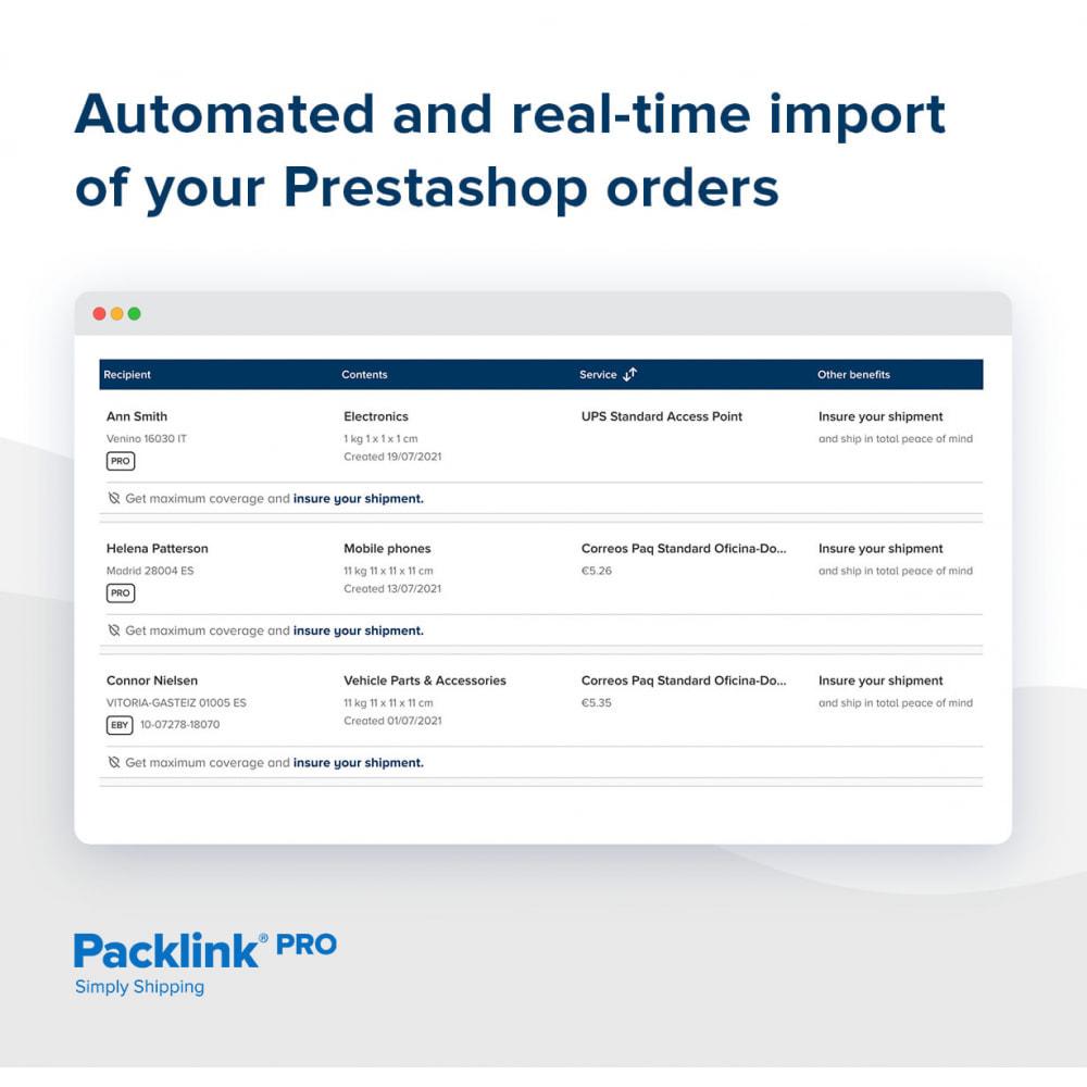 module - Доставка - Packlink PRO Shipping - 2