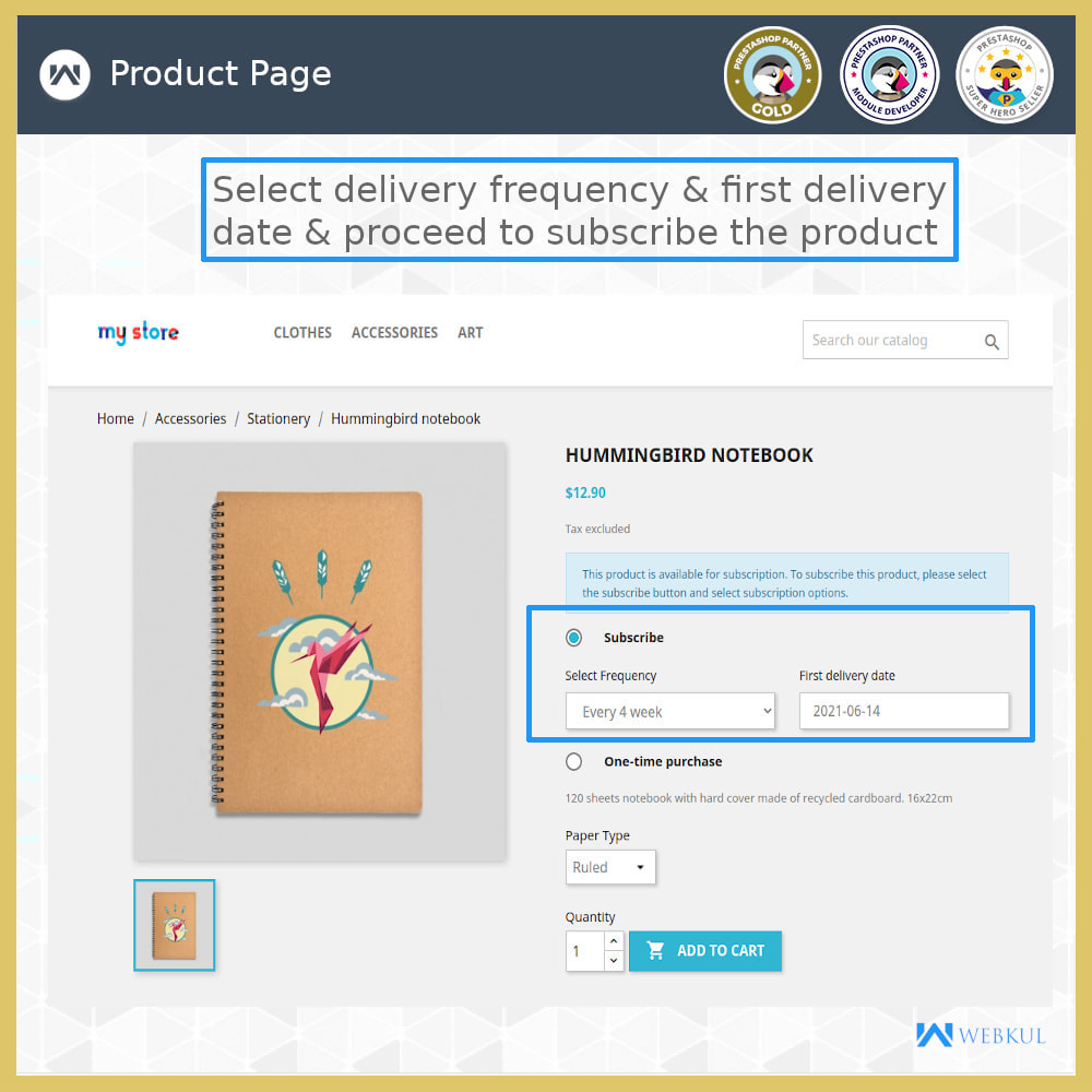 module - Terugkerende betaling (abonnement) - Subscription Products | Recurring Payments - 4