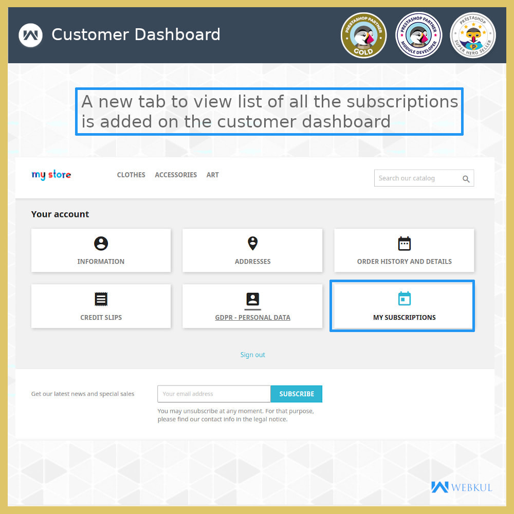 module - Terugkerende betaling (abonnement) - Subscription Products | Recurring Payments - 10