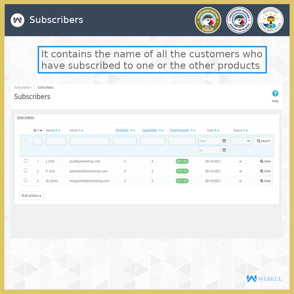 module - Terugkerende betaling (abonnement) - Subscription Products | Recurring Payments - 14