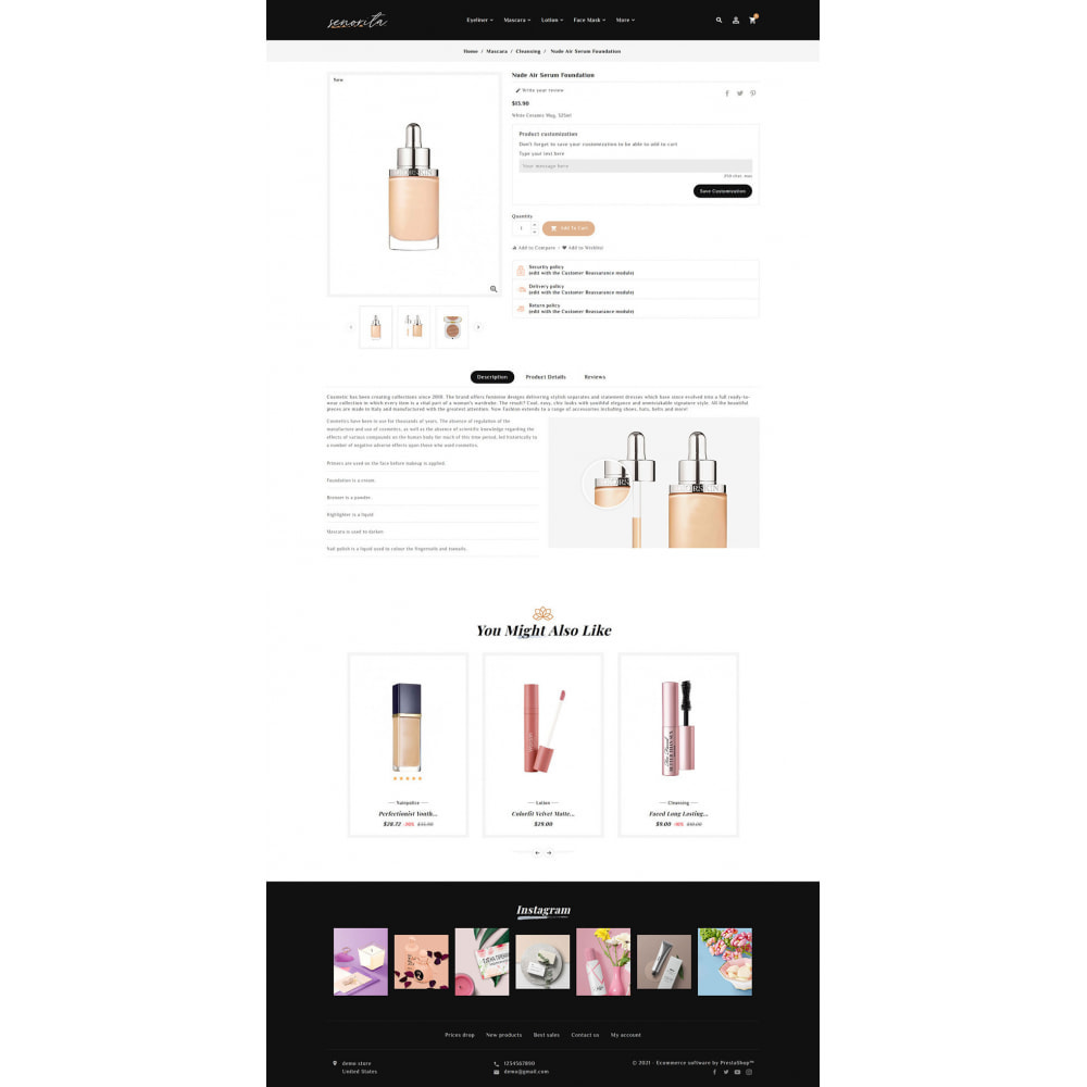 theme - Santé & Beauté - Senorita - Beauty & Cosmetics - 8