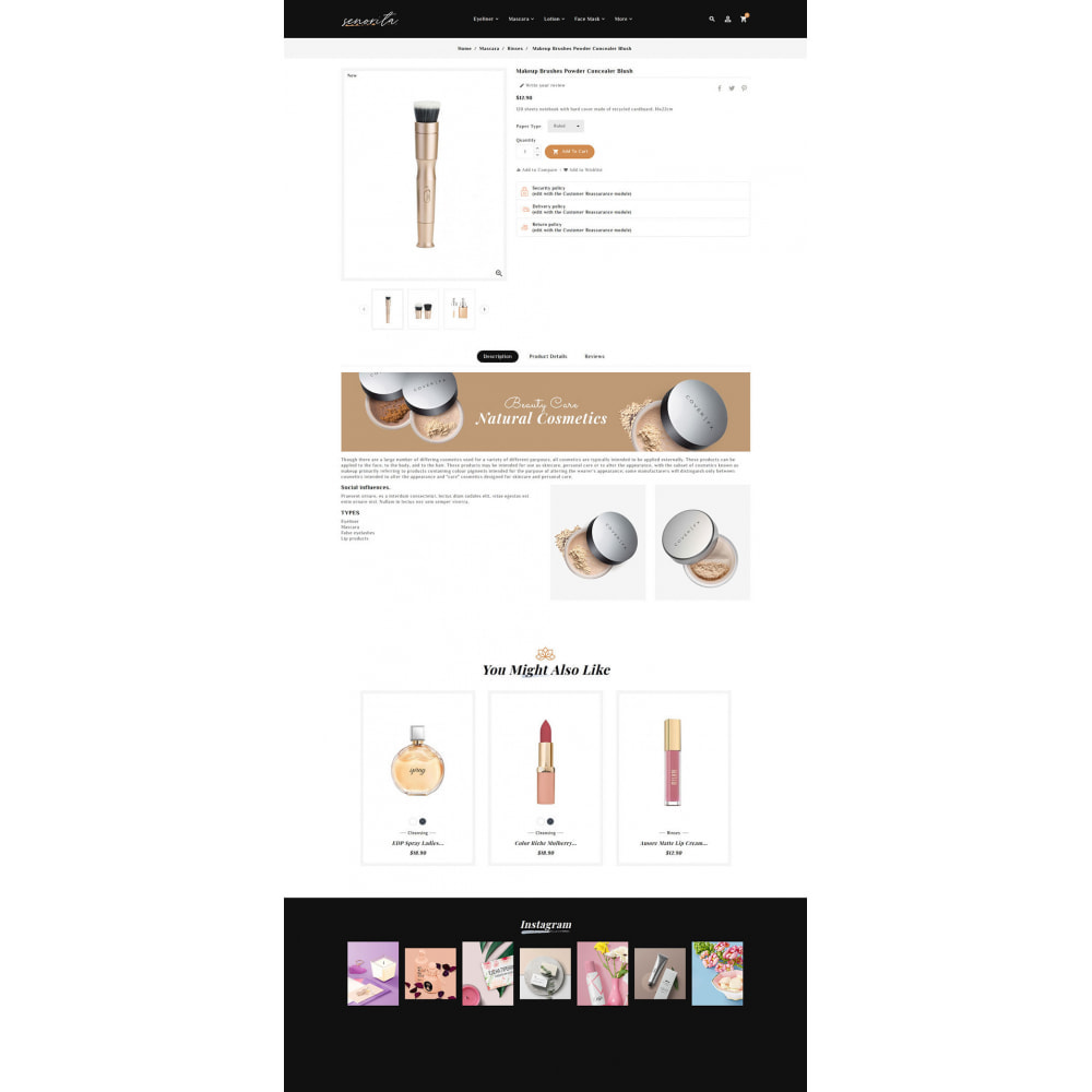 theme - Santé & Beauté - Senorita - Beauty & Cosmetics - 9