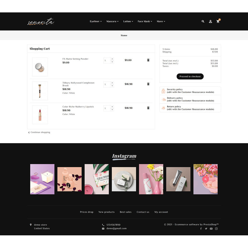 theme - Santé & Beauté - Senorita - Beauty & Cosmetics - 10