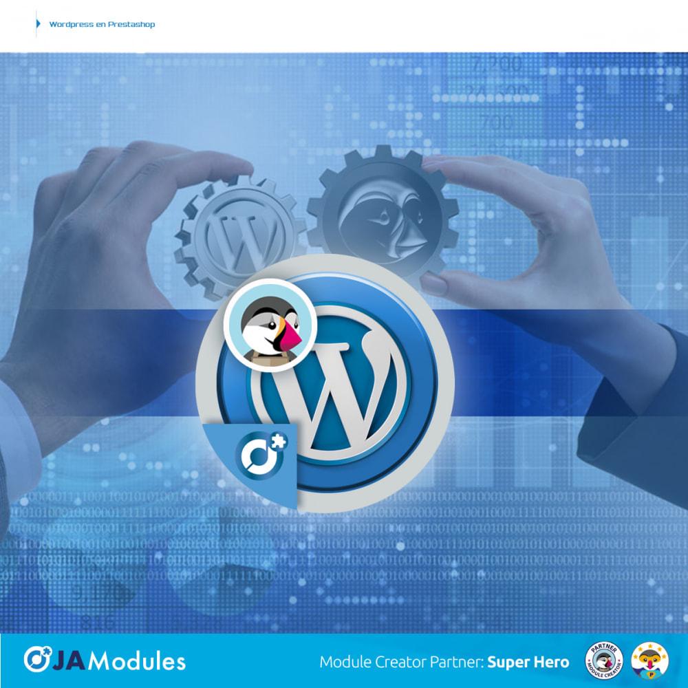 module - Blog, Foro y Noticias - WordPress Integración - 1