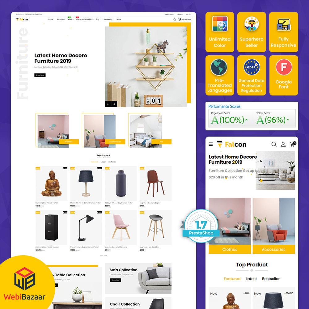 theme - Maison & Jardin - Falcon - Modern Furniture Store - 1