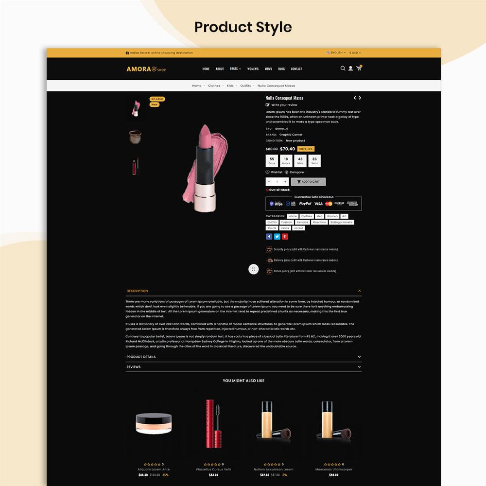 theme - Gesundheit & Schönheit - Amora Beauty Store - 4