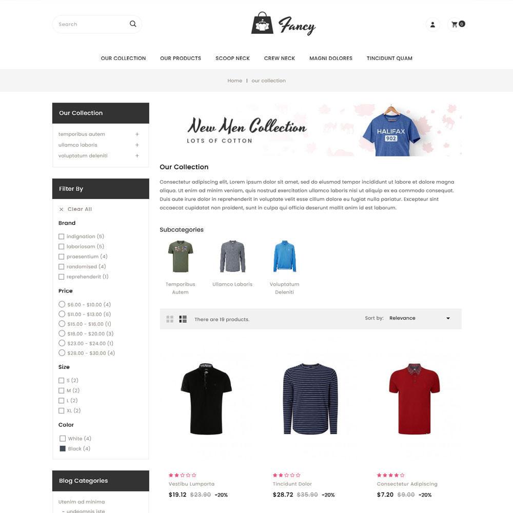 theme - Moda & Calzature - Fancy - Il mega negozio di moda - 5