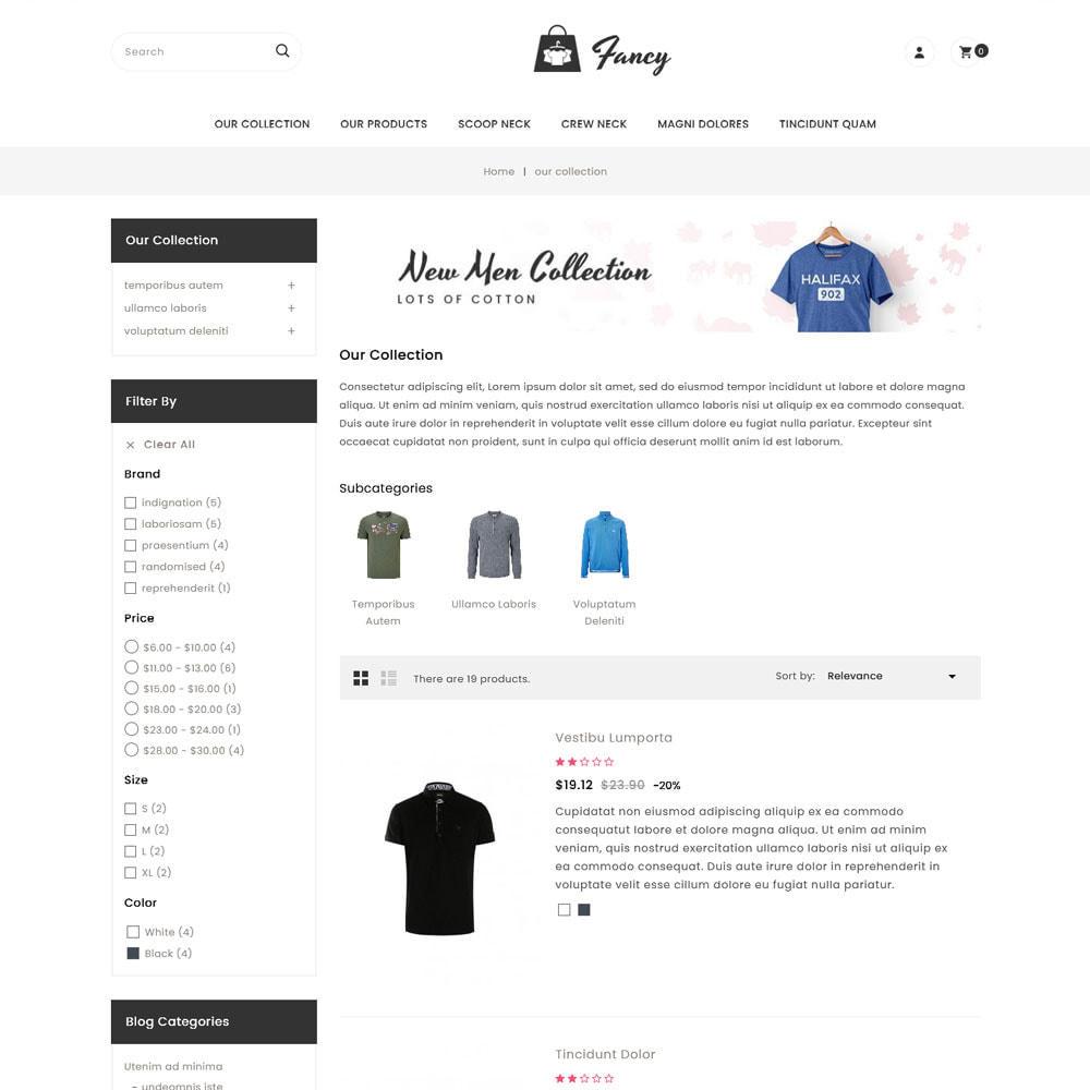 theme - Moda & Calzature - Fancy - Il mega negozio di moda - 6