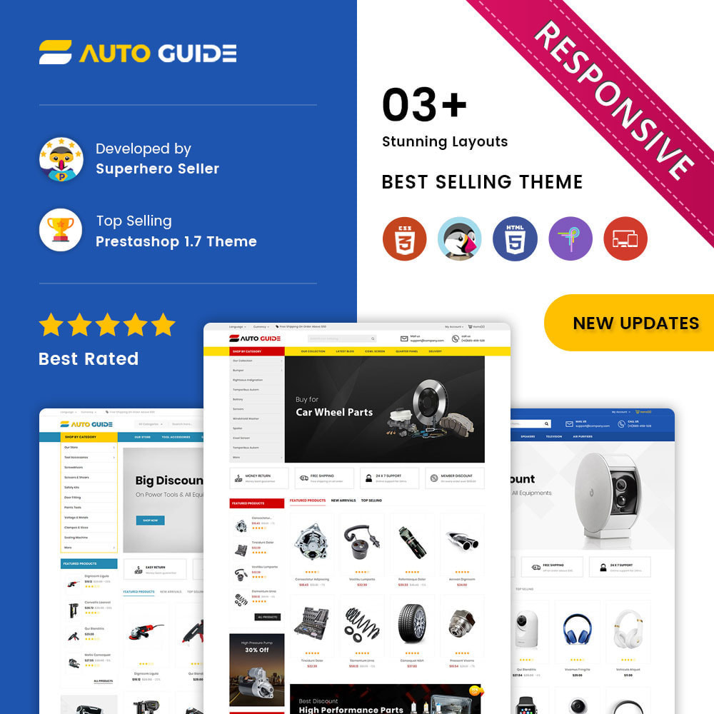 theme - Авто и Мото - Autoguide - The Mega Motor Store - 1